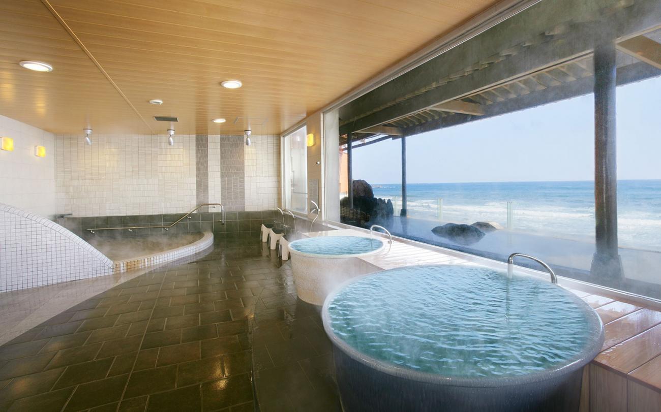 犬吠埼観光ホテル(オーシャンビューの絶景が最高の露天風呂)